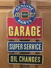 Chevrolet Garage Parts Oil Change Coupe Chevy Coke Vintage Style Decor Car Truck