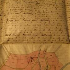 3 Vellum Documents 1881 SOUTH WHEAL FRIENDSHIP MINE Mary Tavy Devon Poldark Fan
