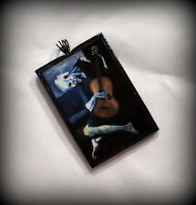 The Old Guitarist Pendant Pablo Picasso Handmade Polymer Clay