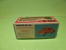 DIAPET G106 - ONLY BOX for VOLKSWAGEN BEETLE 1302S - GOOD - RARE - EMPTY BOX