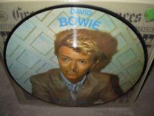 DAVID BOWIE let's talk rare interview ( rock ) picture disc