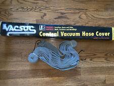 Plastiflex Vacsoc – Knitted Central Vacuum Hose Cover - 30 feet -New!