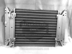 62 63 64 65 66 Chevy Nova II AC Condenser W/ Mounting Bracket OEM 3857132 AC1590