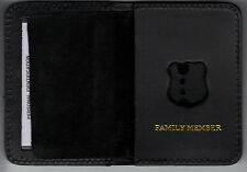 New York/New Jersey Police Officer Family Member Mini Wallet (Badge Not Included