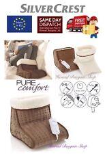 ELETTRICO piede più caldo piedi Riscaldatore con 6 impostazioni di temperatura Lavabile Made in EU