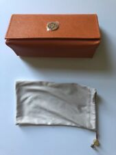 Nice! Luxottica Leather Eye Glass Case With Pouch