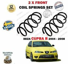 FOR SEAT IBIZA CUPRA R 1.8 TURBO 1.9TDI 2004-2008 NEW 2 X FRONT COIL SPRINGS SET