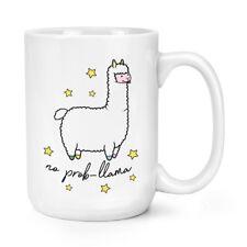 No Prob-Llama Animal 15oz Mighty Mug Cup - Llamas Alpaca Joke Animal Big Large
