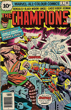 THE CHAMPIONS #6<>MARVEL<>1976<>CHRIS CLAREMONT<>fine condition