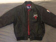 Blouson Cuire Chicago Raging Bull NBA Pro Player Vintage Retro Toro Bravo XL