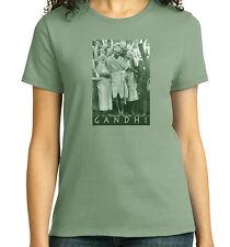 Mahatma Gandhi at Darwen, T-Shirt, Ladies, Mens, Youth, 5 Colors, NWT