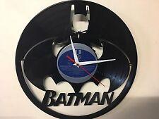 Repurposed Vinyl Record Clock and Wall Art -  Batman Full  LP Clock Random Label