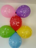 10 x peppa pig and george latex Balloons Boys and Girls Birthday Party