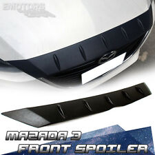 """SHIP FROM LA Glossy Mazda 3 3rd Sedan / Hatchback Front Hood Spoiler Cover"