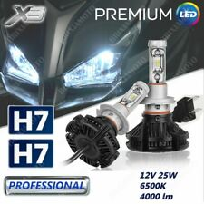 LAMPADINE H7 KIT 2 LAMPADE LED X3 12V 8000LM PER BENELLI TRK 502 / X 2018-2019