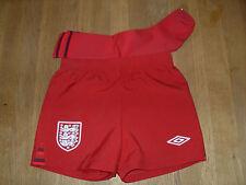 Umbro England Away Shorts and Socks Size: 2 Years
