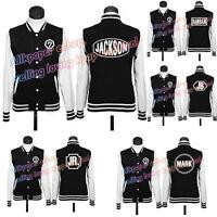 KPOP GOT7 Baseball Coat Jackson JB Mark Hoodie Sweater Pullover Outwear Jacket