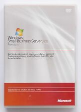 MS Windows SBS Small Business Server 2008 Premium mit 5 CAL - SQL 2008/2005