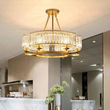 Modern 6-Lights Crystal Chandelier Home Lighting Hanging Pendant Ceiling Lamps