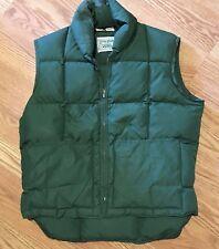 Vintage Zero Zone Down Usa Made Men's Puffy Vest - Size Medium
