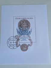 New ListingStamps Czech Republic 2012, Used Sheet