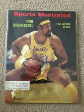 FM6-61 Sports Illustrated Magazine 10-16-1972 WILT CHAMBERLAIN LAKERS