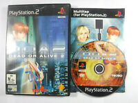 Dead Or Alive 2 DOA PS2 Playstation 2 MINT DISC