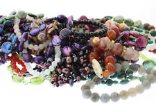 Wholesale Lot of 10 Assorted Genuine Colored Gemstone Natural Stone Bracelets