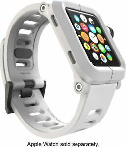 LUNATIK EPIK 003 Polycarbonate Case + Silicone Band for Apple Watch 42mm - White