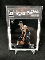 Caris LeVert Brooklyn Nets 2016-17 Donruss Optic 1st Year Rookie Card #167 P91