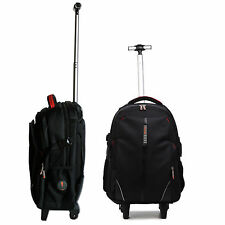 BUSINESS WHEELIE LUGGAGE BACKPACK RUCKSACK TROLLEY BAG WITH WHEELS AND HANDLE