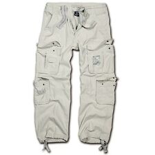 Brandit - Pure Vintage Trouser Old White Wei�Ÿ Cargohose Outdoor Army Armeehose