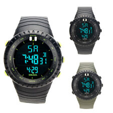SKMEI Mens LED Digital Waterproof Date Alarm Sport Analog Military Wrist Watches