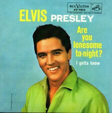 CD SINGLE Elvis PRESLEY	Are You Lonesome Tonight ?  2-track CARD SLEEVE