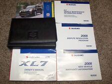 2008 Suzuki XL7 Operator User Guide Owner Owner's Manual 2.5L 2.7L