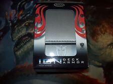 MTG Ion Deck Armor Max Deck Box SILVER for pokemon,yugioh,magic the gathering