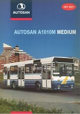 Autosan A1010M Medium bus (made in Poland) _2000 Prospekt / Brochure