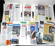 AYRTON SENNA 1982/96 Guerin Sportivo 75 pages clippings pagine formula 1 magazin