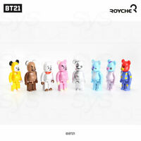 BTS BT21 OfficiaI Authentic Goods BEARBRICK Figure 10SET + Tracking Number
