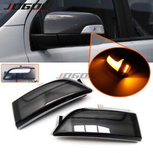 LED Dynamic Side Mirror Light Parking Puddle Light For Ford Ranger T6 2012- 2019