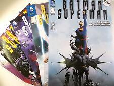 Auswahl = BATMAN / SUPERMAN # 1 2 3 4 5 6 7 von 7 ( Panini , Paperback ) NEUWARE