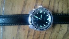 Yema manual wind, vintage, diver watch