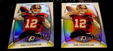 2012 TOPPS PLATINUM KIRK COUSINS RC ORANGE REFRACTOR & Plain Lot Of 2 VIKINGS