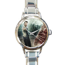 Women's Walking Dead Charm Bracelet Watch Rick and Lucille Analog Quartz Battery