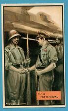ESPAÑA 1937 GUERRA CIVIL POSTAL VIDA DEL SOLDADO