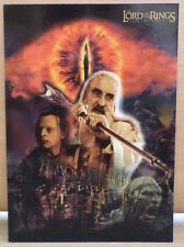 HTF COLLECTIBLE LORD OF THE RINGS '' THE TWO TOWERS '' POST CARD