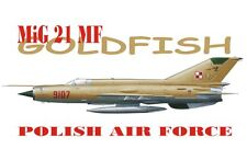 "Mig 21 mf ""poisson rouge"" (polish af special marquage) 1/72 akkura limited edition"