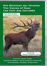Audio-CD: Stimmen der Hirsche: Damhirsch, Rentier, Elch, Karibu, Altai-Maral &Co