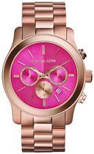 *NEW* MICHAEL KORS RUNWAY LADIES WATCH MK5931 - OVERSIZED PINK DIAL ROSE GOLD
