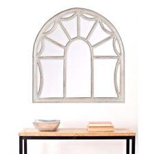 Safavieh Palladian Arched Window Design Framed Wall Mirror Decor 33 x 32
